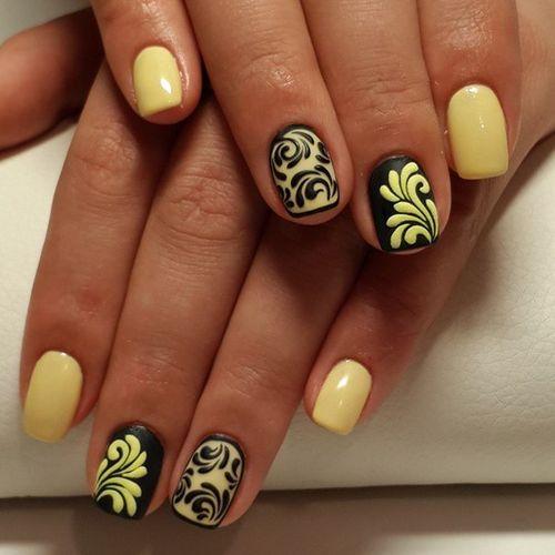 рисунки на ногтях шеллаком фото