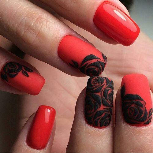 Шеллак красный с черным