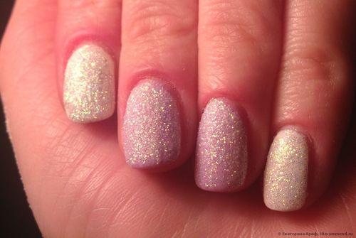 Фото ногтей гель лак с блестками