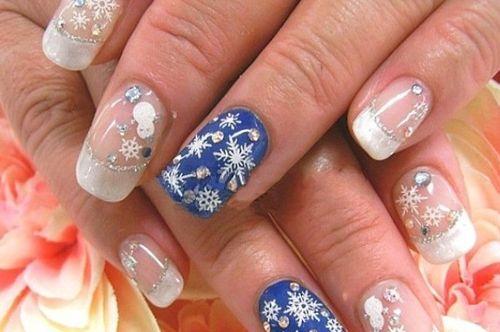 Шеллак со снежинками