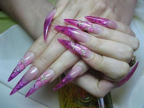 Шеллак на нарощенные ногти