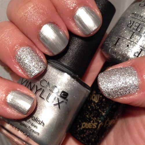 Шеллак серебро