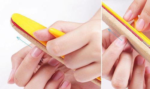 Шлифовка ногтей