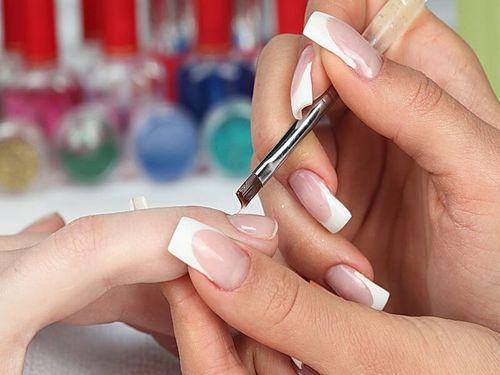 Подготовка ногтевой пластины