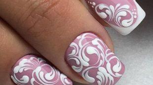 Вензеля на ногтиках