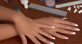 Как использовать типсы для наращивания ногтей
