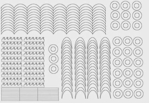 Трафареты для ногтей своими руками шаблоны сделать распечатать